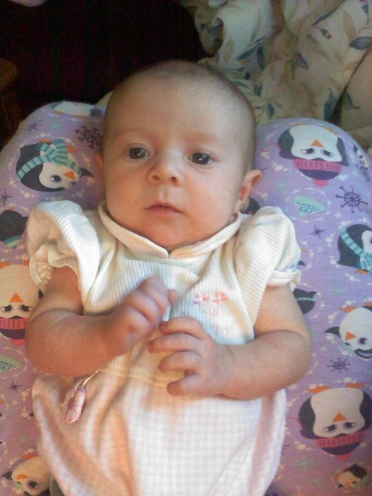 Infant Lillyanna McCabe